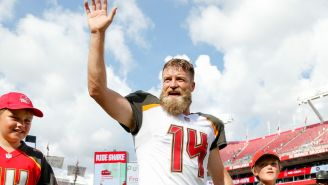 Ryan Fitzpatrick's 'Extreme TD Face' Instantly Joined The Meme Hall Of Fame
