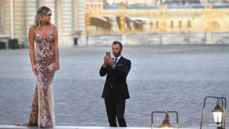 Paulina Gretzky And Dustin Johnson Appear To Be Very Much A Couple In New Ryder Cup Photos