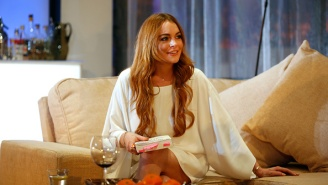 Lindsay Lohan Getting Punched In The Face After Trying To 'Save' Kids In Russia Is The Most Bizarre Video Ever