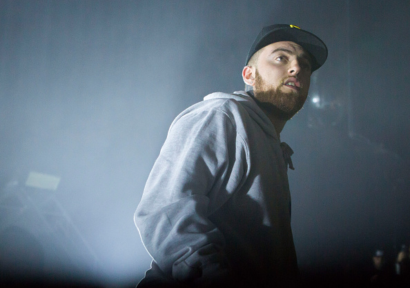 Mac Miller performs in support of the GO:OD AM Tour at The Fillmore Detroit on October 14, 2015 in Detroit, Michigan.  (Photo by Scott Legato/Getty Images)