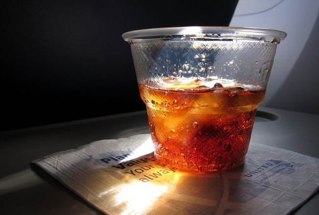 can you bring your own alcohol on a plane
