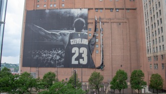 The Cavs' Proposed Replacement For Nike's LeBron Banner Has Been Revealed And Cleveland Sports Fans Absolutely Hate It