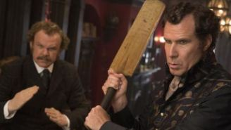 ATTN 'Step Brothers' Fans: Watch First Trailer For 'Holmes And Watson' Starring Will Ferrell And John C. Reilly