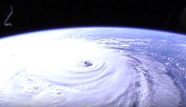 hurricane florence nasa video