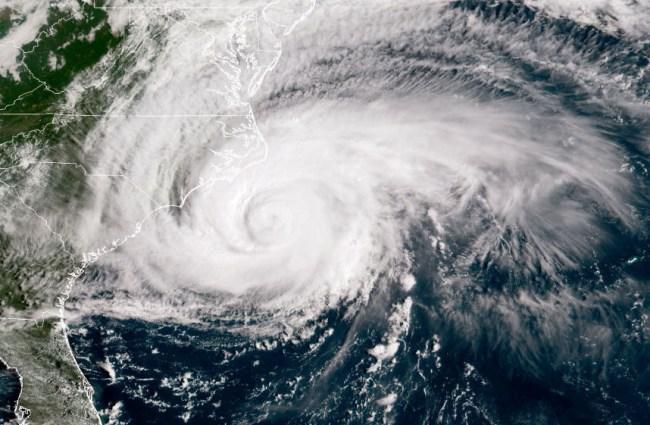 hurricane florence video footage