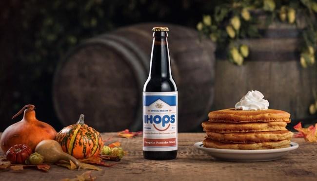 ihop pumpkin beer