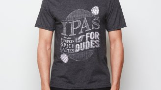 The Perfect Fall T-Shirt: IPA's Are Just Pumpkin Spice Lattes For Dudes