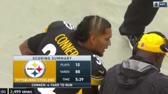 The Internet Reacts To Steelers RB  James Conner Rocking An Absolutely Ridiculous Looking Mullet