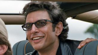 Every Single Picture Frame At Thrift Shop Features A Jeff Goldblum Photo Because Life, Uh, Finds A Way