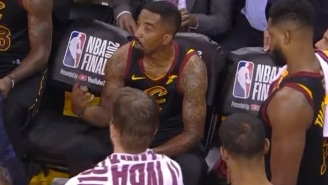The NBA Will Reportedly Fine JR Smith Every Game He Doesn't Cover Up His 'Supreme' Logo Tattoo