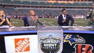 Things Got A Bit Awkward During NFL Network's Pregame Show After Steve Smith Got Heated And Punked Michael Irvin For Trying To Throw Shade