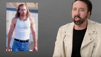 Behold The Genius Of Nic Cage As He Breaks Down His Most Iconic Characters From 'Con-Air' To 'Face/Off'