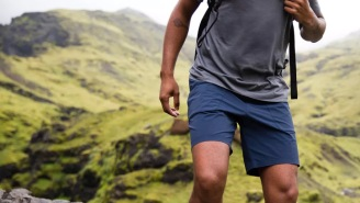 The 2-Way Stretch Highline Athletic Shorts Are About To Become Your Favorites (50% OFF)