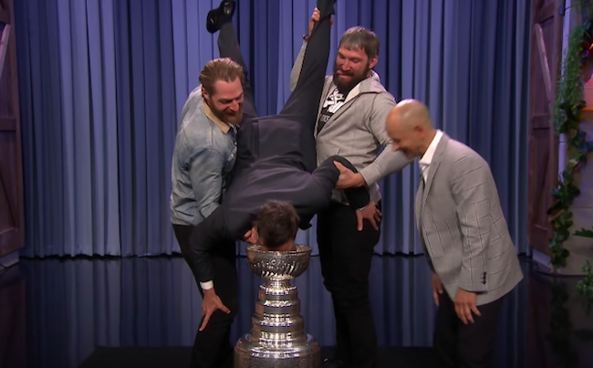 stanley cup keg stand ban