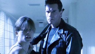 Arnold Schwarzenegger Reunited With Linda Hamilton And Shares Tender Photo From The Set Of 'Terminator 6'