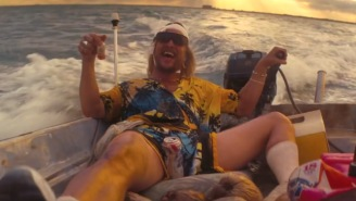 Matthew McConaughey Is The Drug-Addled 'Moondog' In The Epic Red Band Trailer For 'The Beach Bum'