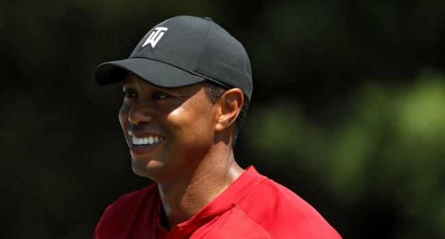 Tiger Woods Lookalike PGA Championship Boston