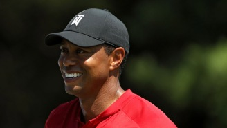 Tiger Woods Lookalike Becomes Viral Sensation At This Weekend's PGA Tour Stop In Boston