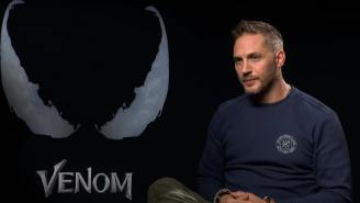 Watch 'Venom' Star Tom Hardy Take Tough Questions From Kids Like 'How Did You Get In The TV?'