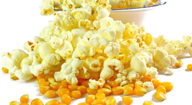 Why Do We Eat Popcorn Movies history