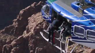 Will Smith Went Bungee Jumping From A Helicopter In The Grand Canyon And It Was Truly Awesome