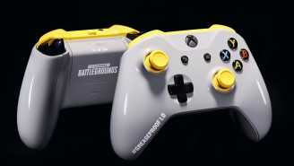This Limited-Edition PUBG 'Greaseproof' Xbox One Controller Is Perfect For Gamers Who Eat While Playing