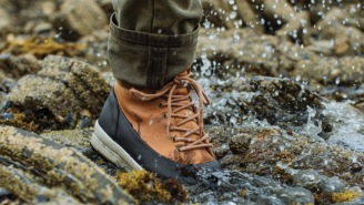 These 100% Waterproof All-Weather Duckboots Are Exactly What Your Feet Need Right Now