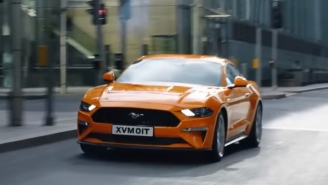 This Ford Mustang Commercial Was Banned By UK Government For 'Encouraging Unsafe Driving' (The Car Drove 15 MPH)