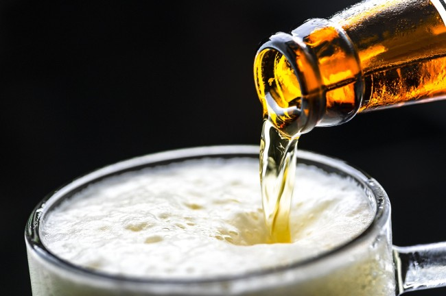 does beer help you recover from a workout