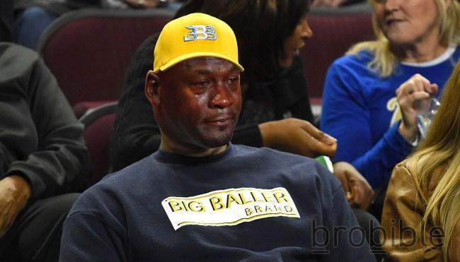 Bill Plaschke LeBron James Lavar Ball