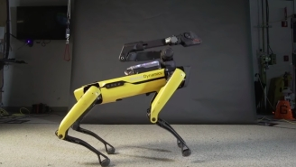 Boston Dynamics Is Using A Dancing Robot To Distract Us From The Fact They're Going To Take Over The World
