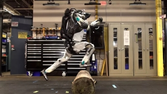 Boston Dynamics Atlas Robot Can Now Do Parkour And Looks Like A Lottery Pick