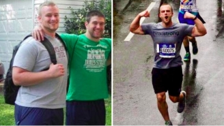 BRO OF THE WEEK: BroBible Reader And Former 290-Pound Lineman Running NYC Marathon To Raise Money For Combat Veterans' Therapy