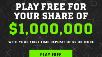 How To Win Your Share Of $1,000,000 Playing Fantasy Football This Weekend, Because Winners Are Knighted In October