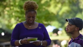 Carolina Panthers Pull First Class Move, Host Saundra And Chancellor Lee Adams, Victims Of TheRae Carruth Murder