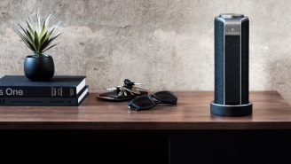 The Voice-Activated Cavalier Portable Speaker Will Actually Make Your Bachelor Pad Look Classy