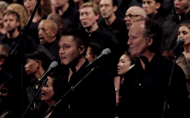 chorus covers Toto's Africa