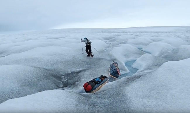 Colin o'Brady The Impossible First Trip Antarctica