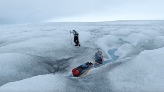 Doctors Told Colin O'Brady He'd Never Walk Normally Again, Now He's Trying Be The First Human To Cross Antarctica Solo