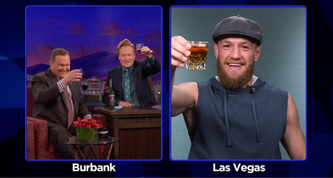 Conor McGregor Conan OBrien UFC 229