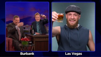 Conor McGregor's Cheeky Interview On 'Conan' Was More Entertaining Than Most UFC Fights