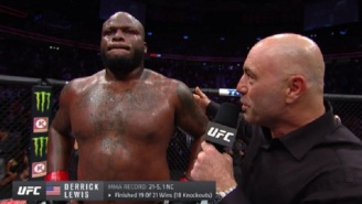 UFC's Derrick Lewis Gives Amazing Post-Fight Interview After Crazy Comeback Win 'My Balls Was Hot', 'Donald Trump Called And Told Me To Knock This Russian MF Out'
