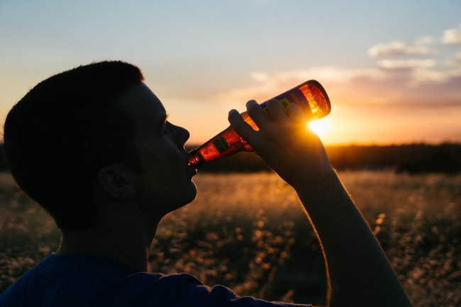 does beer help you recover after working out