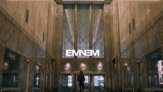 Eminem Throws Down Must-See Performance Of 'Venom' From The Top Of The Empire State Building