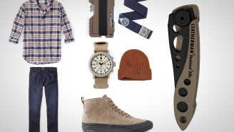 8 Everyday Carry Essentials: Tan And Navy