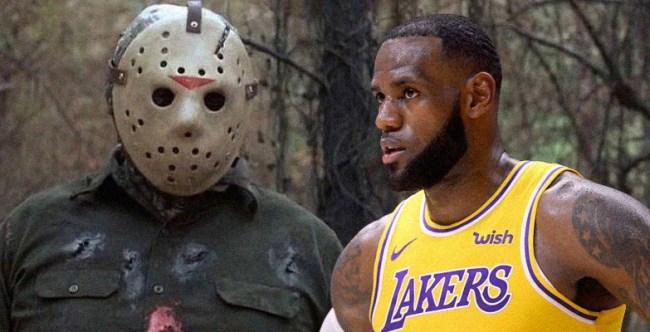 Friday 13th Movie Franchise LeBron James