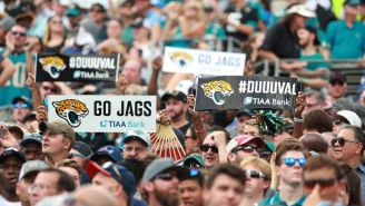 Middle-Aged Jaguars Fan Knocks Texans Fan Unconscious With Vicious Cheap Sucker Punch