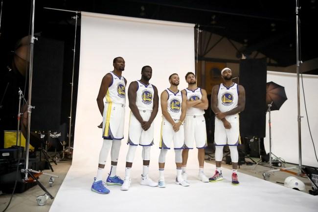 Golden State Warriors DeMarcus Cousins