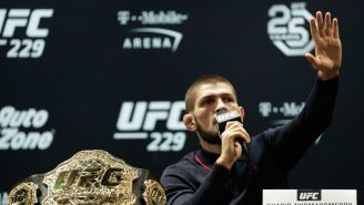 Almost No One Recognized Khabib Nurmagomedov In The Las Vegas Airport After The Fight Seen Around The World