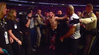 KhabibNurmagomedov's Father Is Furious At Him For Post-Fight Shenanigans And Will Impose Punishment Tougher Than UFC's